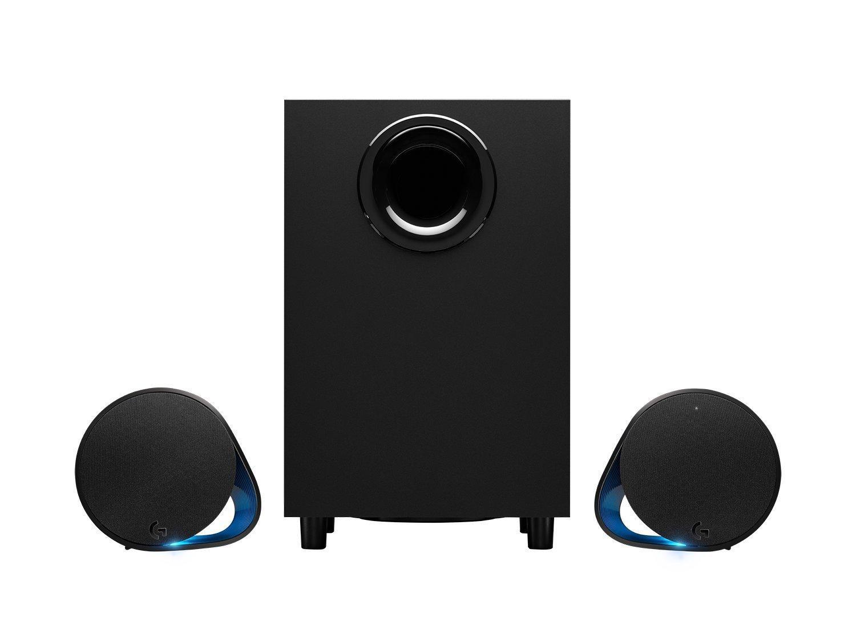 Тонколони Logitech G560 RGB 2.1, 240W, Черен