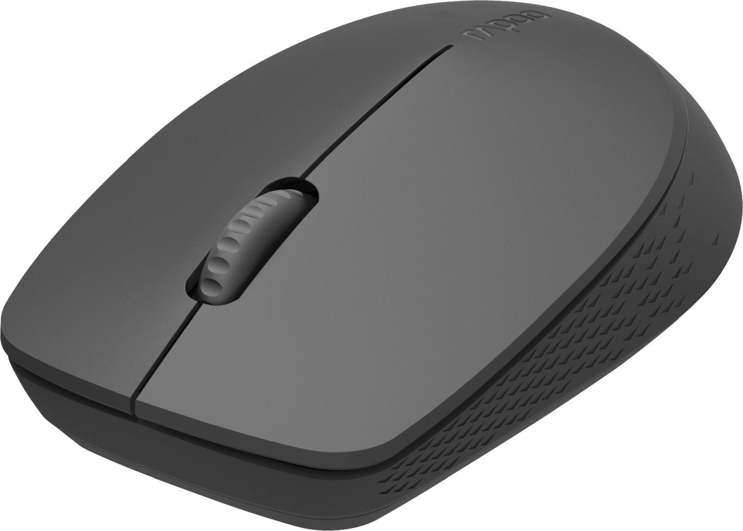 Безжична оптична мишка RAPOO M100 Silent, Multi-mode, безшумна, Черен-2