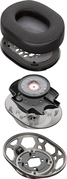 Геймърски слушалки Plantronics RIG 500 PRO, Микрофон, Черен/Златист-4