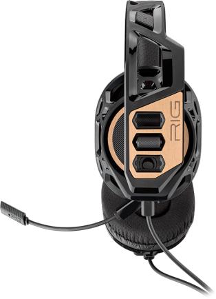 Геймърски слушалки Plantronics RIG 300, Микрофон, Черен/Златист-3