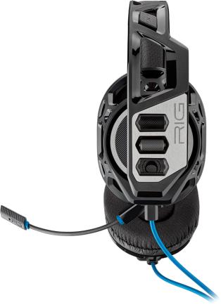 Геймърски слушалки Plantronics RIG 300HS, Микрофон, Черен/Сребрист-2