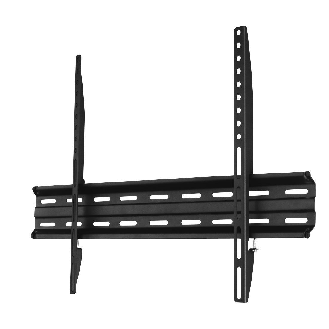 Стенна стойка за TV HAMA 118107, Фиксирана, 32-75, 40 кг, 1 Звезда, Черен