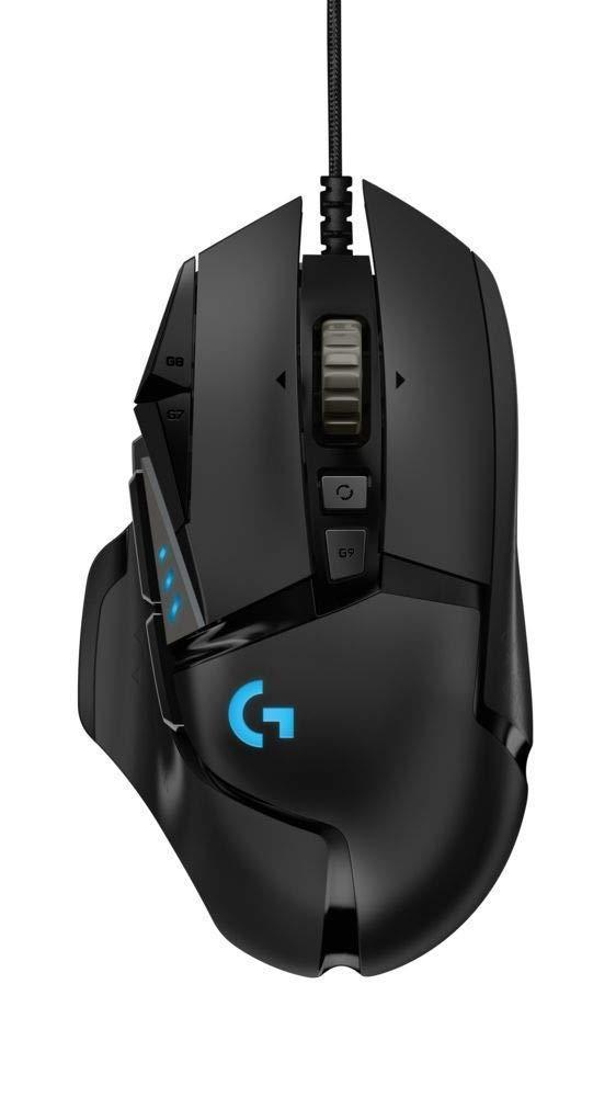 Геймърска мишка Logitech G502 HERO Proteus Spectrum RGB