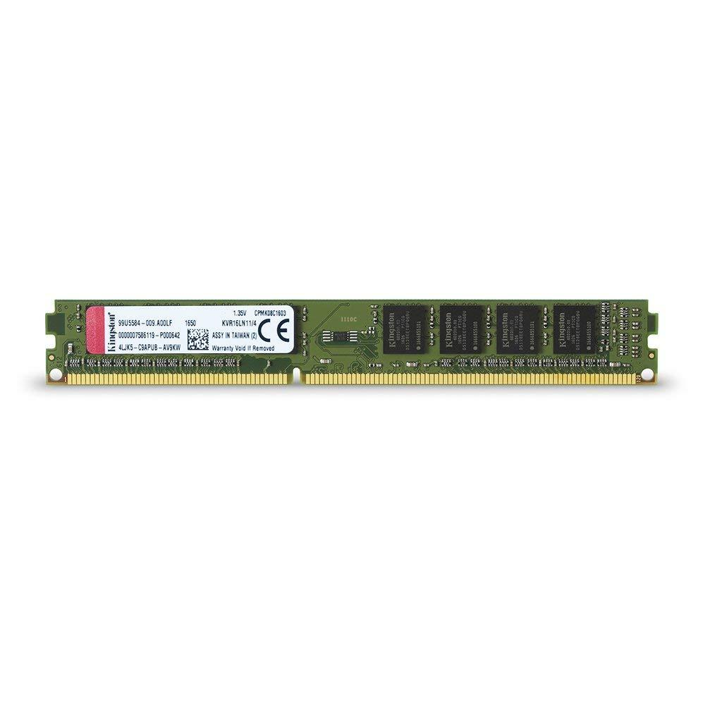 Памет Kingston 4GB DDR3L PC3-12800 1600MHz CL11 KVR16LN11/4 1.35v