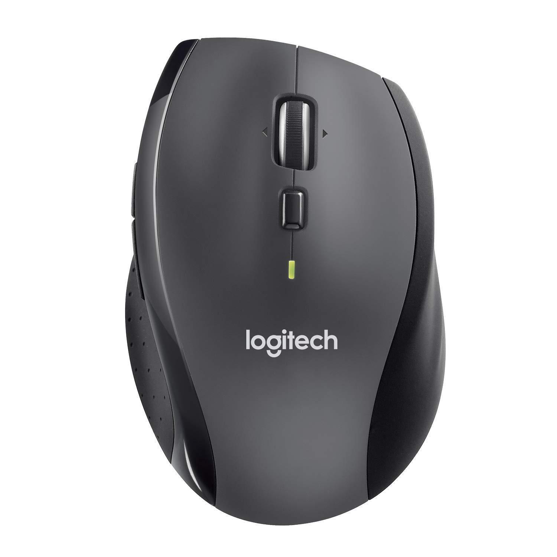 Безжична оптична мишка LOGITECH M705 Marathon, USB, Черен