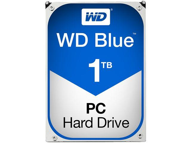Хард диск WD Blue, 1TB, 7200rpm, 64MB, SATA 3