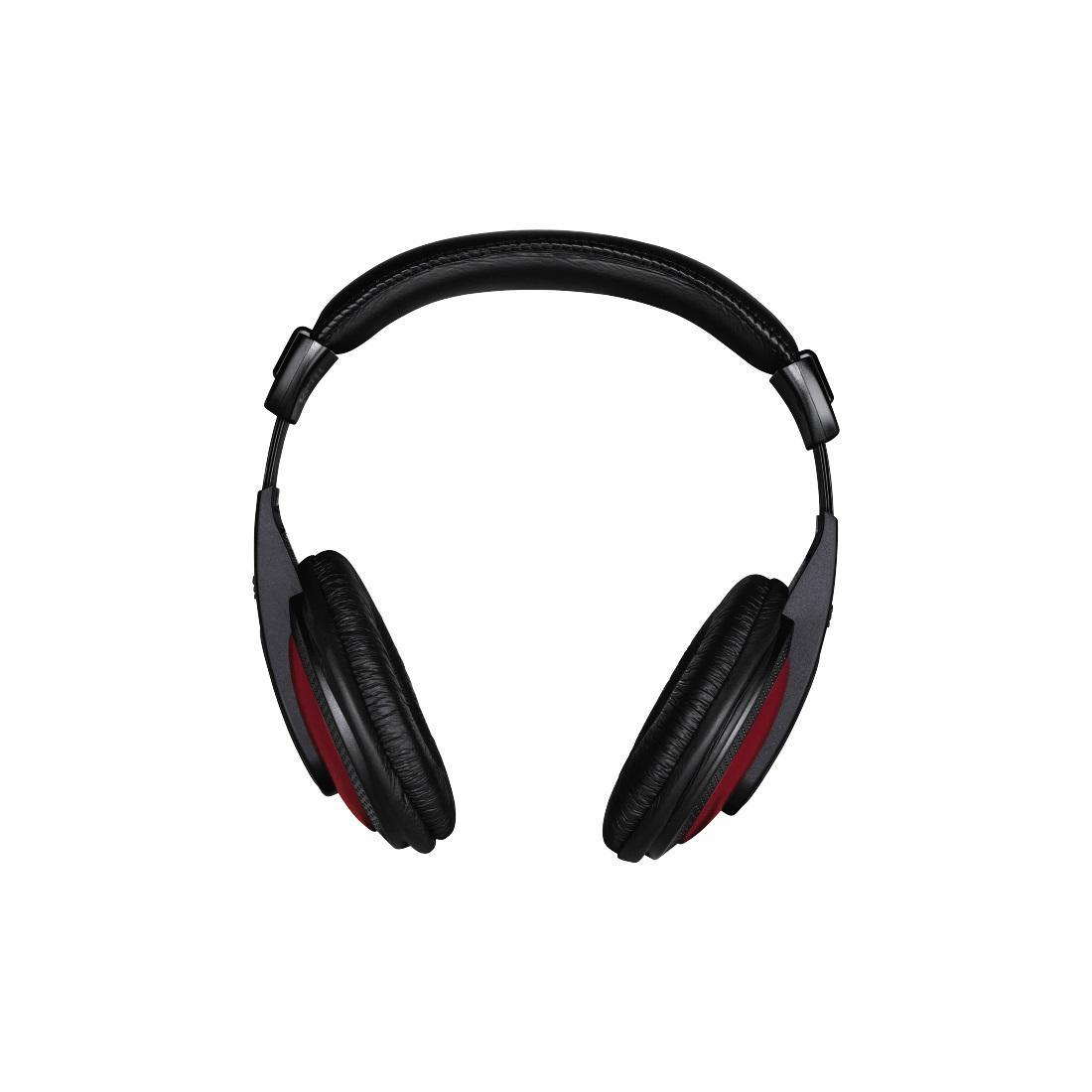 Слушалки HAMA Basic4Music ,HK-5618 с 2 м кабел ,Черен/Червен-2