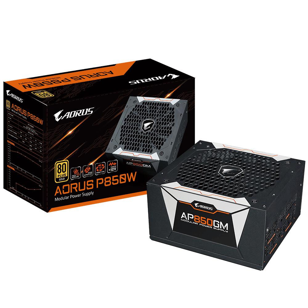 Захранващ блок Gigabyte AORUS P850W 850W 80+ GOLD Modular