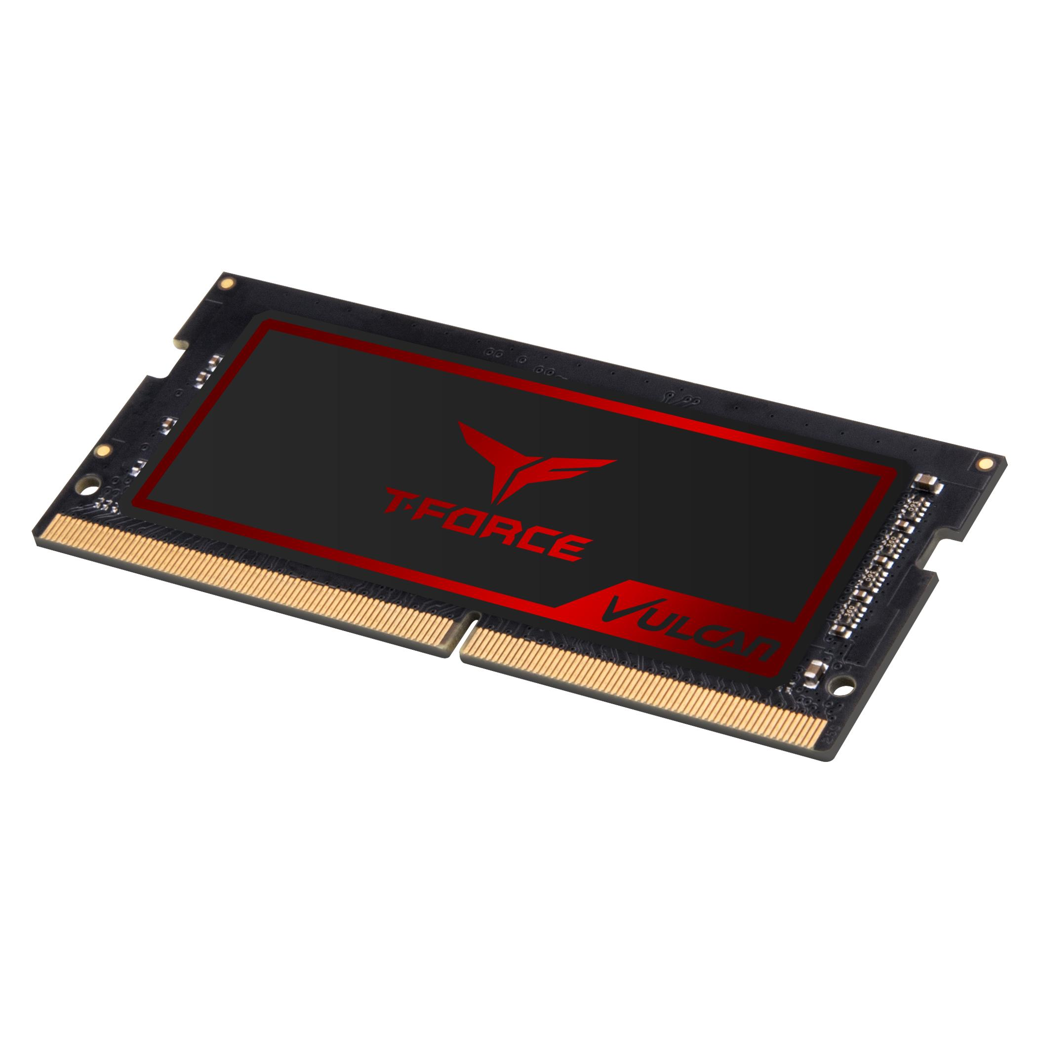Памет Team T-Force Vulcan DDR4 SO-DIMM - 4GB 2666MHz  CL18-18-18-38 1.2V-3