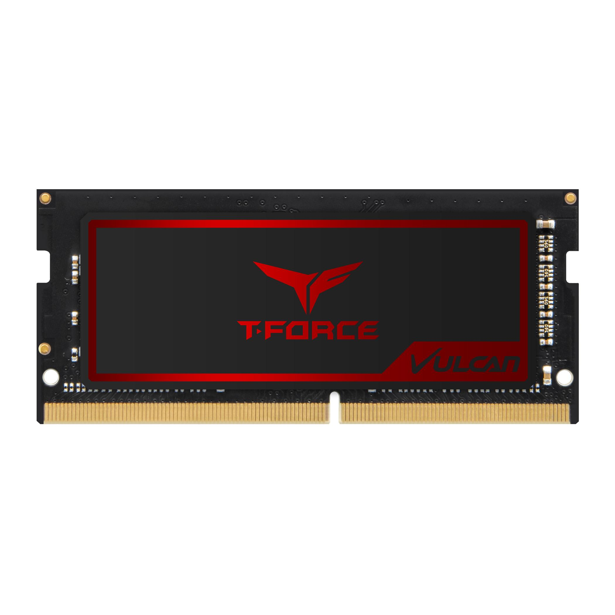 Памет Team T-Force Vulcan DDR4 SO-DIMM - 8GB 2666MHz  CL18-18-18-38 1.2V