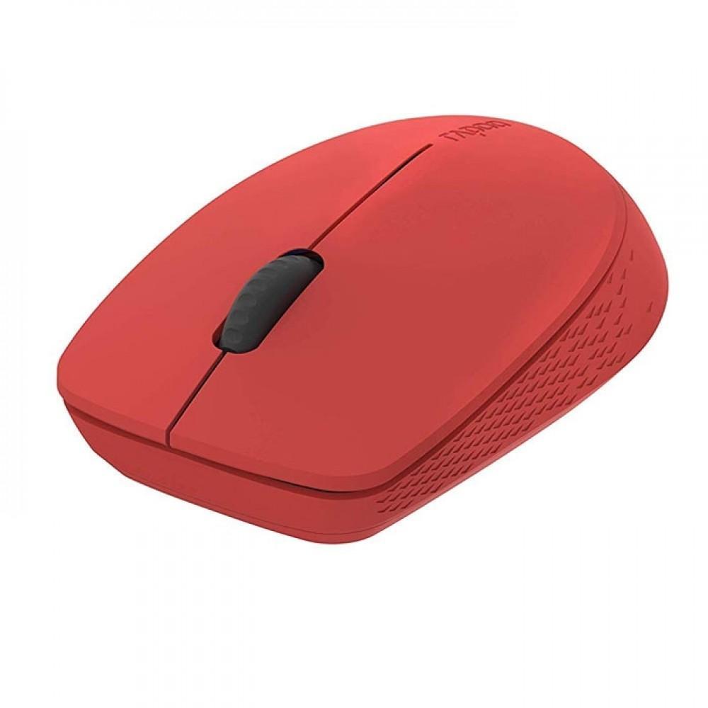 Безжична оптична мишка RAPOO M100 Silent, Multi-mode, безшумна, Червен