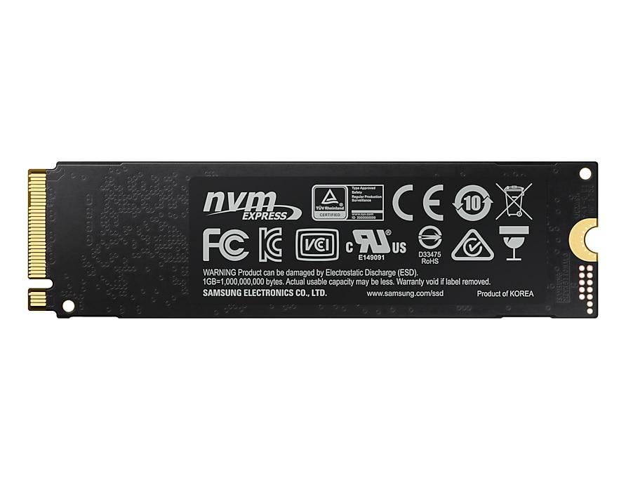 Solid State Drive (SSD) SAMSUNG 970 EVO Plus, 500GB, M.2 Type 2280, MZ-V7S500BW-2