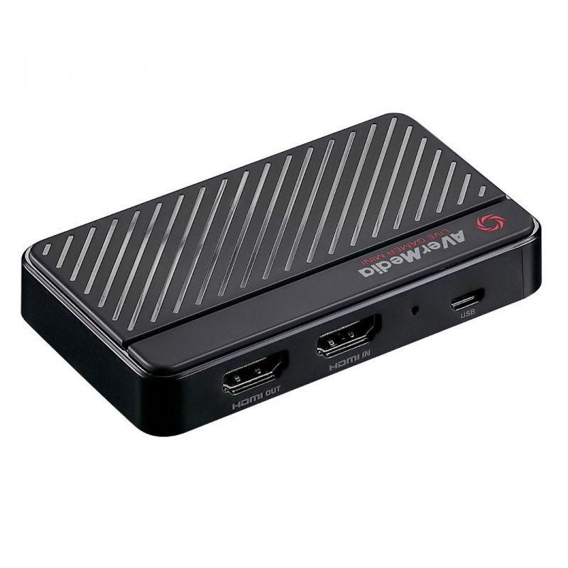 Външен кепчър AVerMedia LIVE Gamer Mini, USB-3