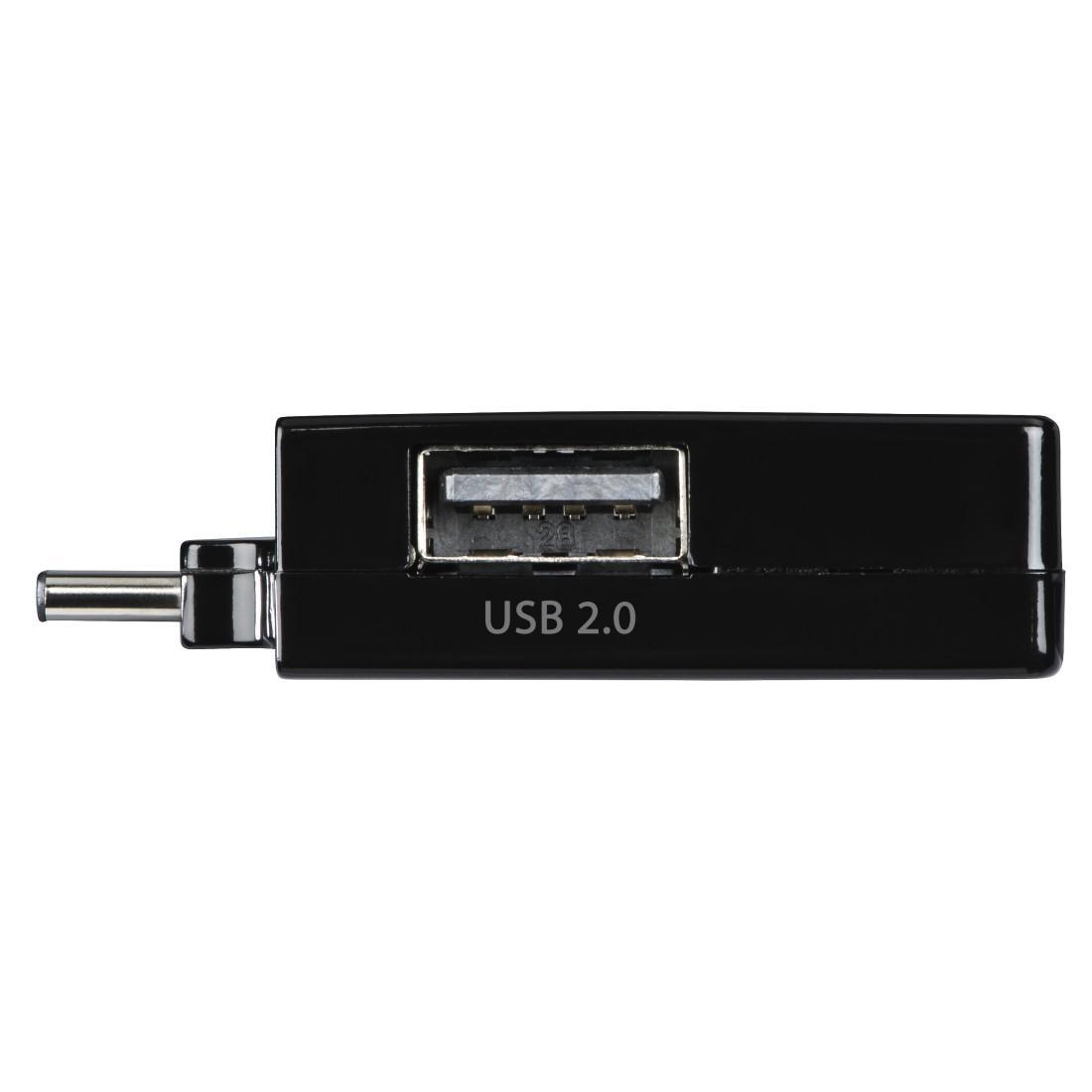USB-C хъб 1:3 HAMA Pocket, 1 x USB-A 3.1, 2 x USB-A 2.0, Черен-4