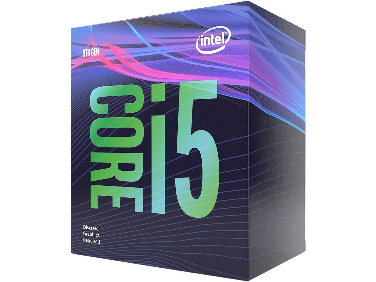 Процесор Intel Coffee Lake Core i5-9400F 2.9GHz (up to 4.10GHz ), 9MB, 65W LGA1151 (300 Series)-3