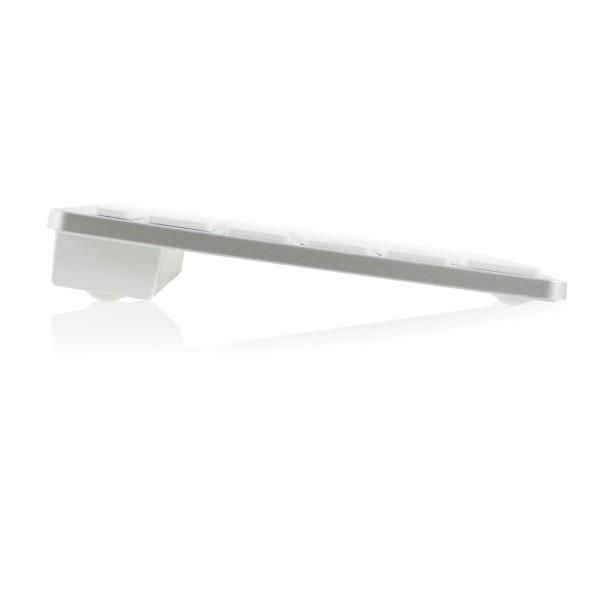 Bluetooth клавиатура Ewent EW3163, за компютри/таблети/смартфони, (Qwerty), Бял-3