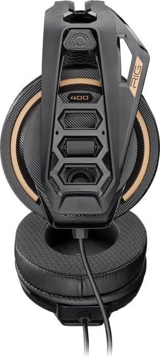 Геймърска слушалка Plantronics RIG 400 PRO, Черен-3
