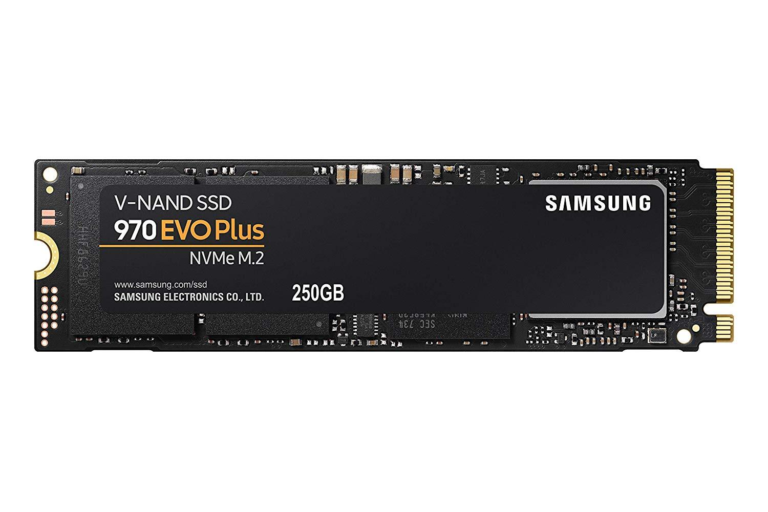 Solid State Drive (SSD) SAMSUNG 970 EVO Plus, 250GB, M.2 Type 2280, MZ-V7S250BW