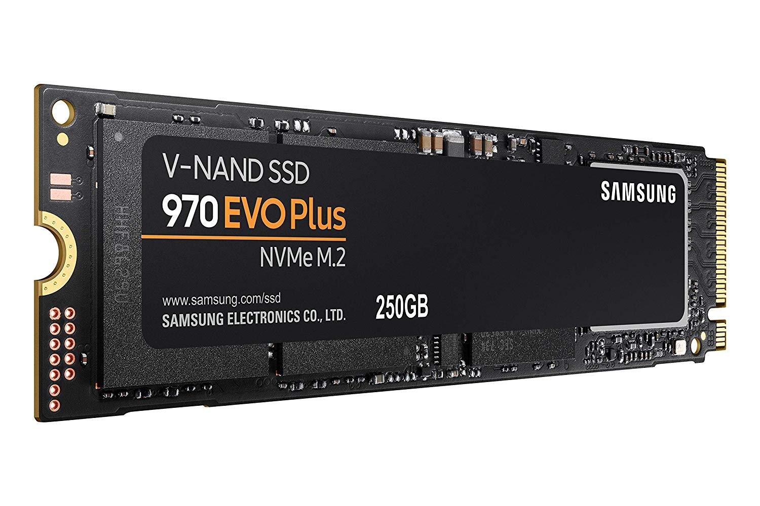 Solid State Drive (SSD) SAMSUNG 970 EVO Plus, 250GB, M.2 Type 2280, MZ-V7S250BW-4
