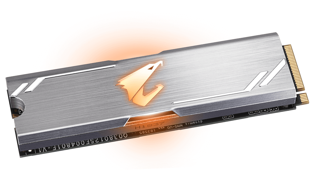 Solid State Drive (SSD) Gigabyte Aorus RGB M.2 NVMe Gen 3 PCIe SSD 512GB -3
