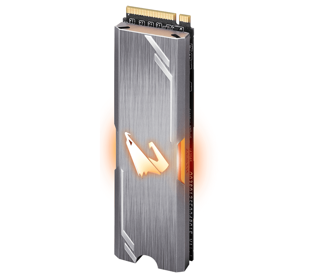 Solid State Drive (SSD) Gigabyte Aorus RGB M.2 NVMe Gen 3 PCIe SSD 512GB -4
