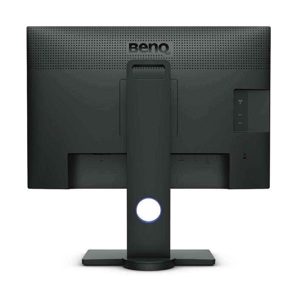 Монитор BenQ SW240, IPS, 24.1 inch, Wide, WUXGA, DVI-DL, HDMI, DP, USB Hub, Card Reader, Черен-4