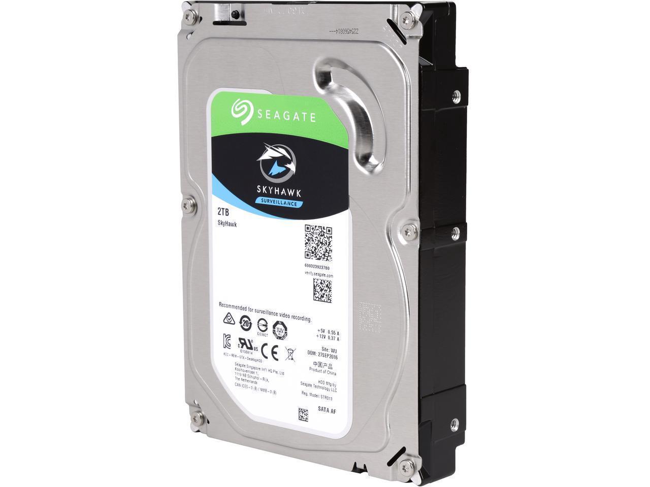 Хард диск SEAGATE SkyHawk ST2000VX008, 2TB, 64MB Cache, SATA 6.0Gb/s-2