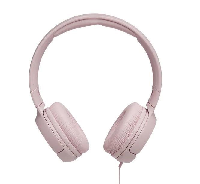 Слушалки on-ear JBL T500, Розов-2