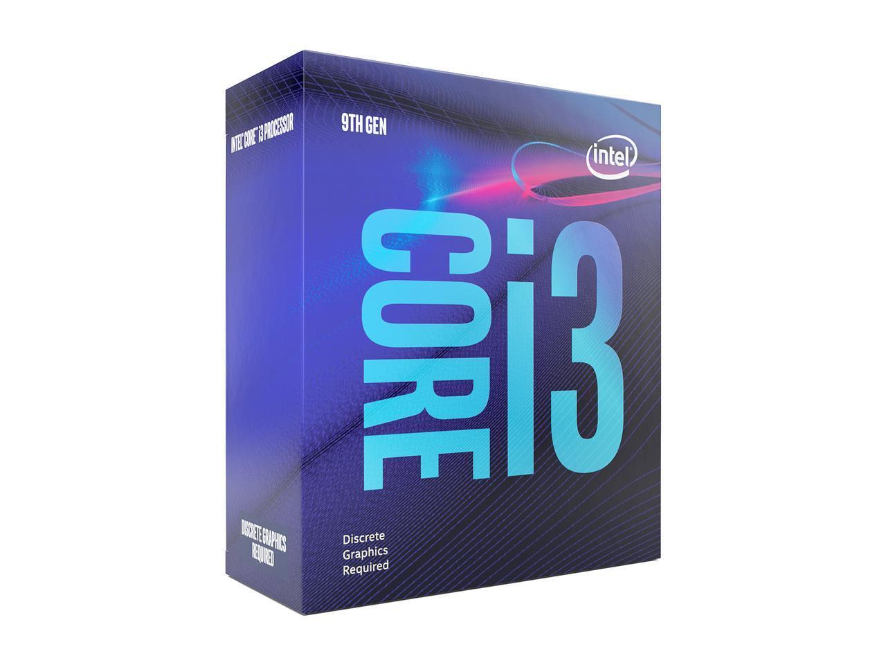 Процесор Intel Coffee Lake Core i3-9100F 3.60GHz (up to 4.20GHz ), 6MB, 65W LGA1151 (300 Series)-2