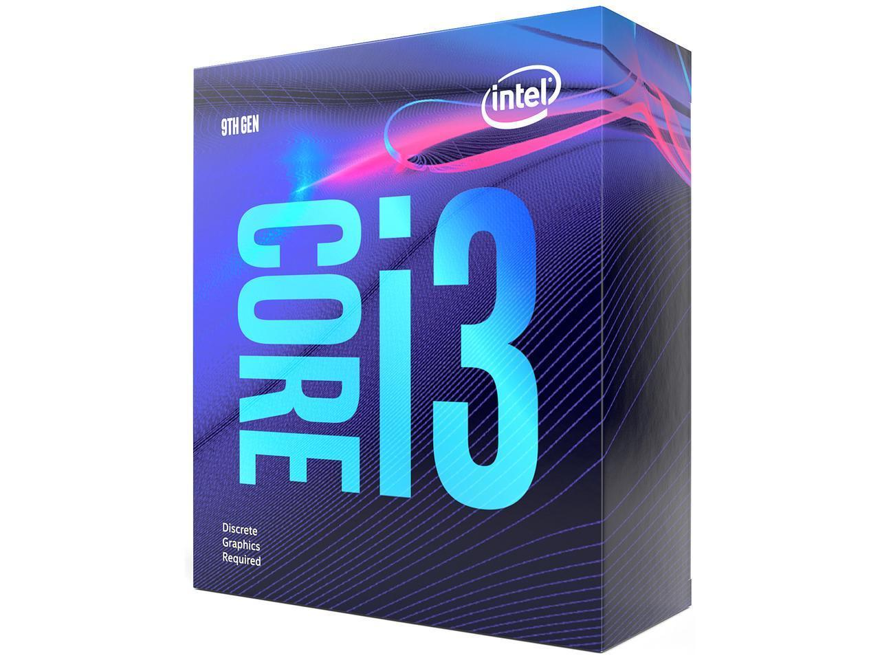 Процесор Intel Coffee Lake Core i3-9100F 3.60GHz (up to 4.20GHz ), 6MB, 65W LGA1151 (300 Series)-3