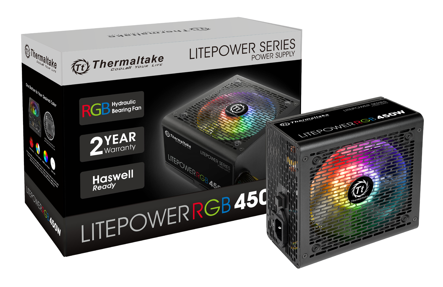 Захранващ блок Thermaltake LitePower 450W RGB (230V)