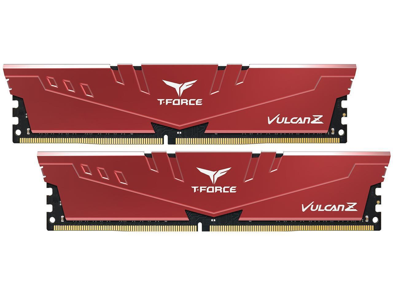 Памет Team Group T-Force Vulcan Z 16GB (2 x 8GB) 3000MHz DDR4 CL16-18-18-38 1.35V