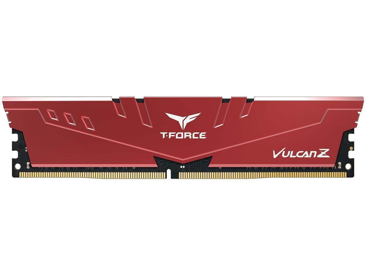 Памет Team Group T-Force Vulcan Z 4GB 3000MHz DDR4 CL16-18-18-38 1.35V