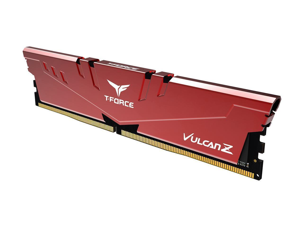 Памет Team Group T-Force Vulcan Z 8GB 3200MHz DDR4 CL16-18-18-38 1.35V-2