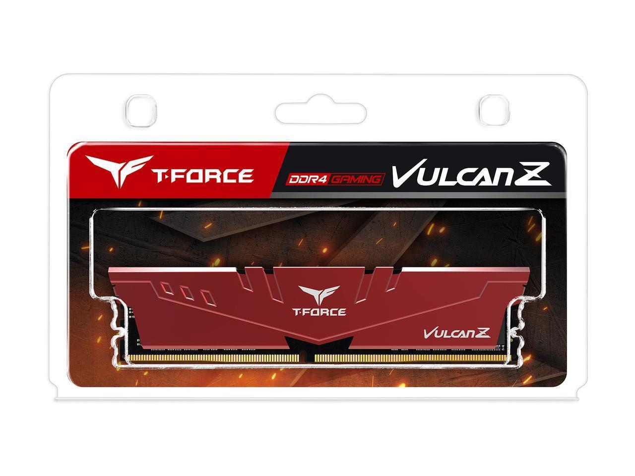 Памет Team Group T-Force Vulcan Z 8GB 3200MHz DDR4 CL16-18-18-38 1.35V-3
