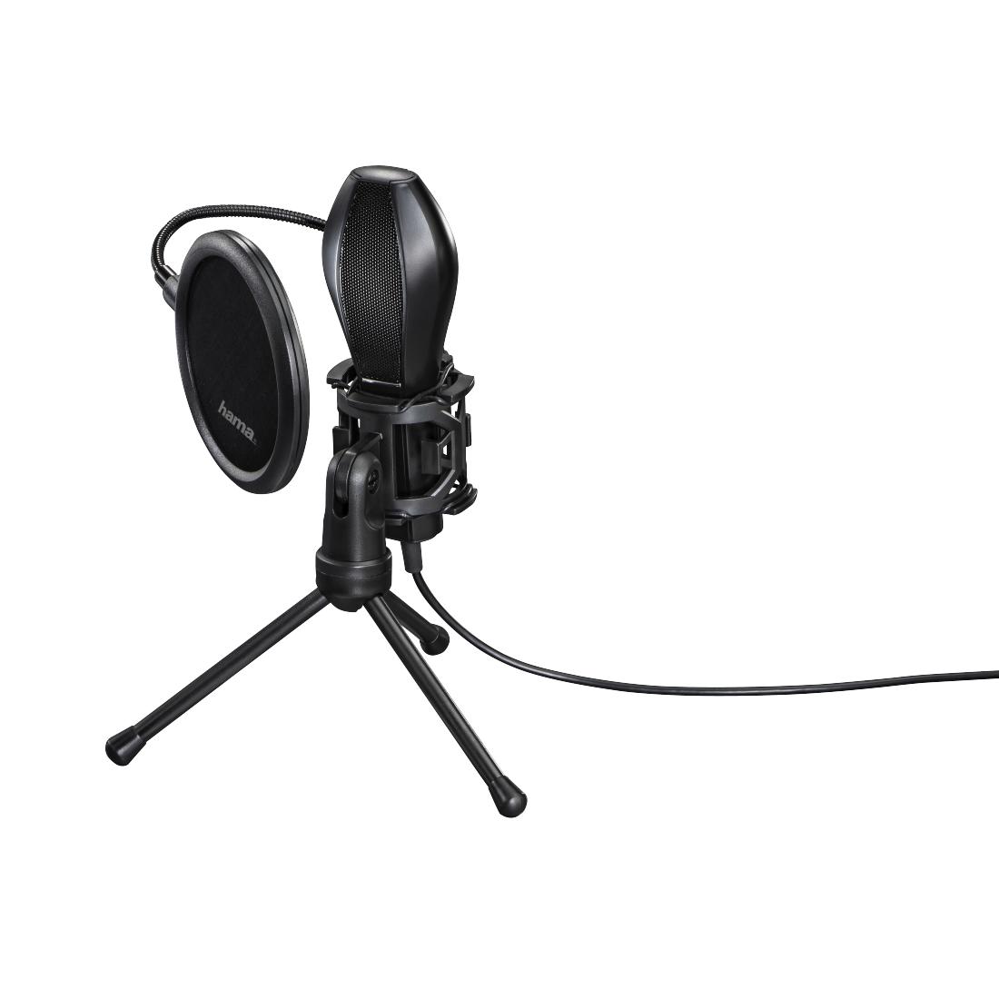 Настолен микрофон HAMA MIC-USB Stream