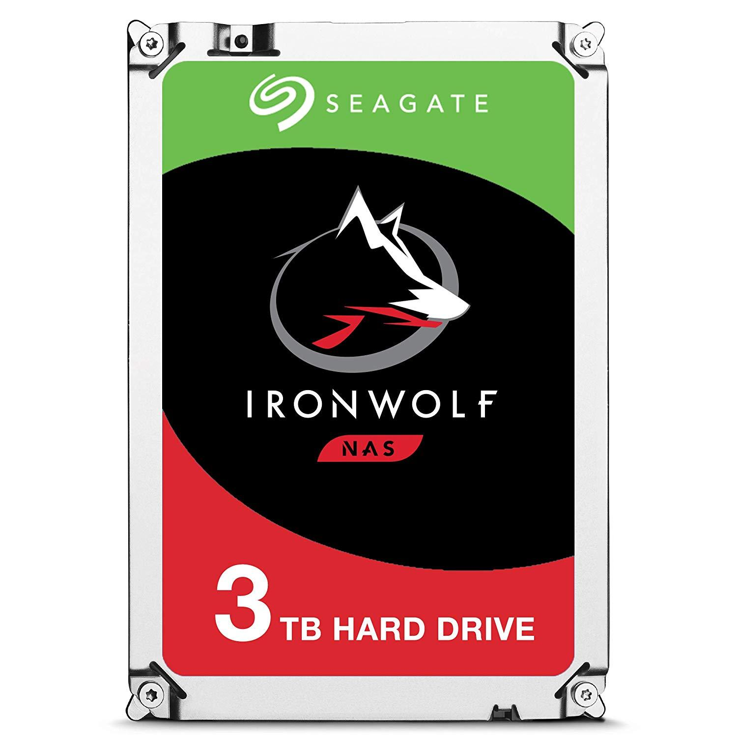 Хард диск SEAGATE IronWolf NAS 3TB 64MB 5900 rpm SATA 6.0Gb/s