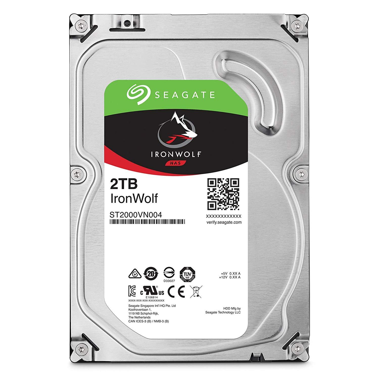 Хард диск SEAGATE IronWolf NAS 2TB 64MB 5900 rpm SATA 6.0Gb/s-2