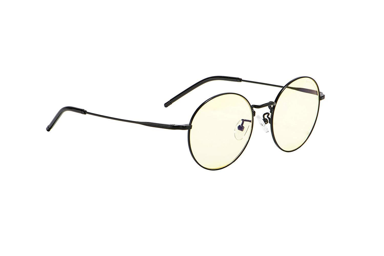 Геймърски очила GUNNAR Ellipse Onyx, Amber