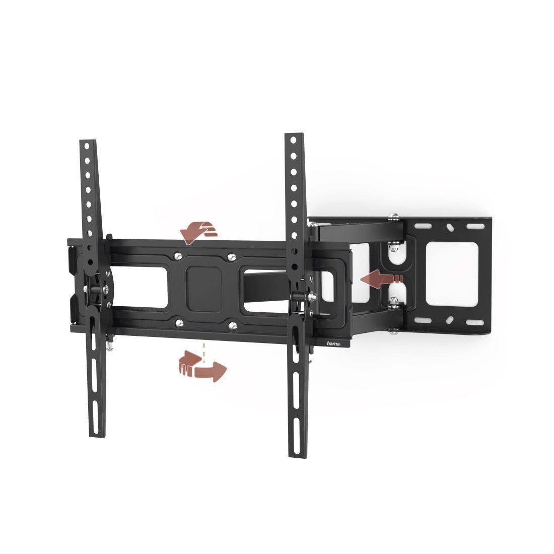Стенна стойка за TV HAMA 118124, Регулируема, 32-65,35 кг, Черна-3