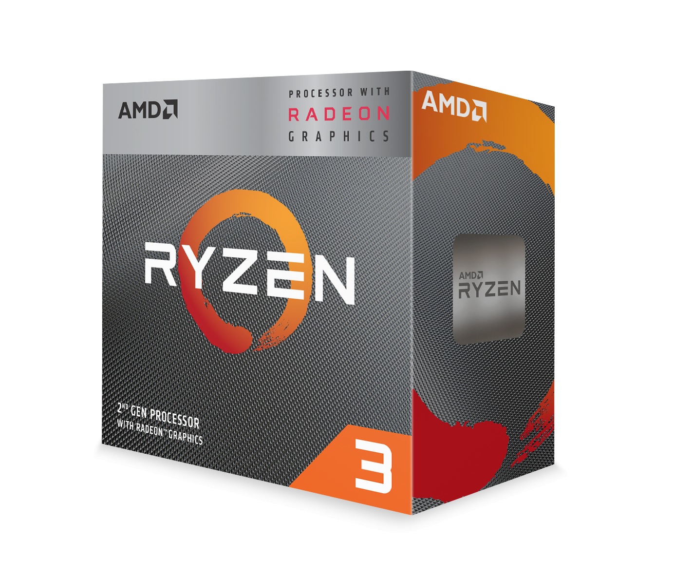 Процесор AMD RYZEN 3 3200G 4-Core 3.6 GHz (4.0 GHz Turbo) 6MB/65W/AM4/BOX-2