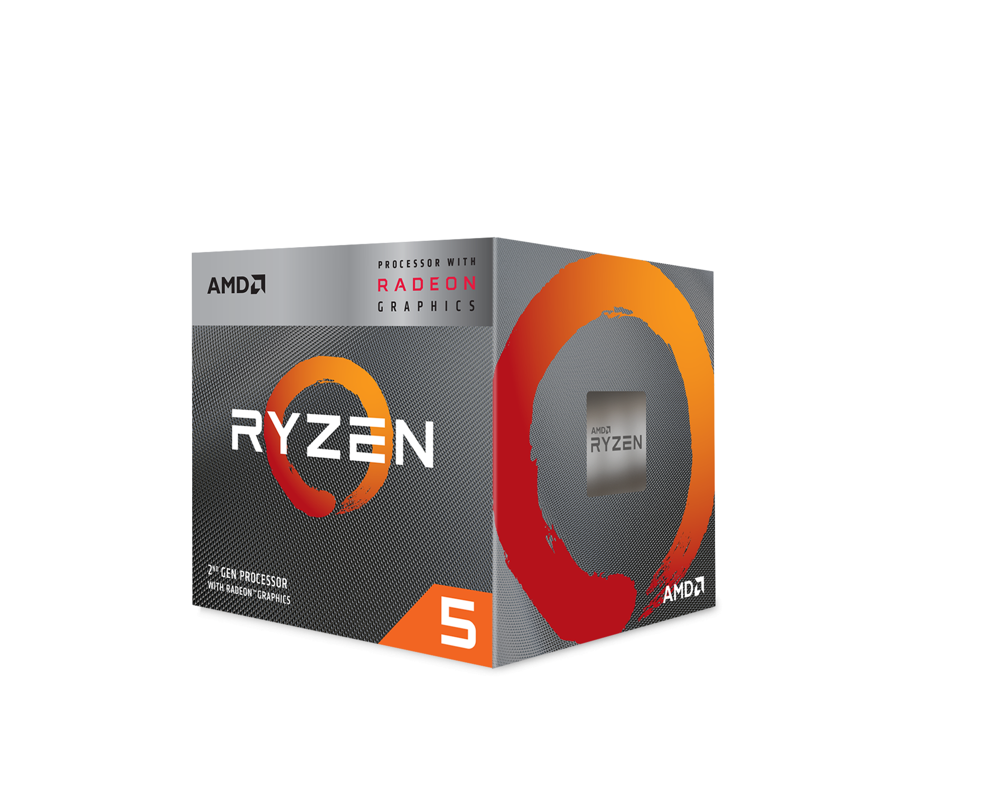 Процесор AMD RYZEN 5 3400G 4-Core 3.7 GHz (4.2 GHz Turbo) 6MB/65W/AM4/BOX-3