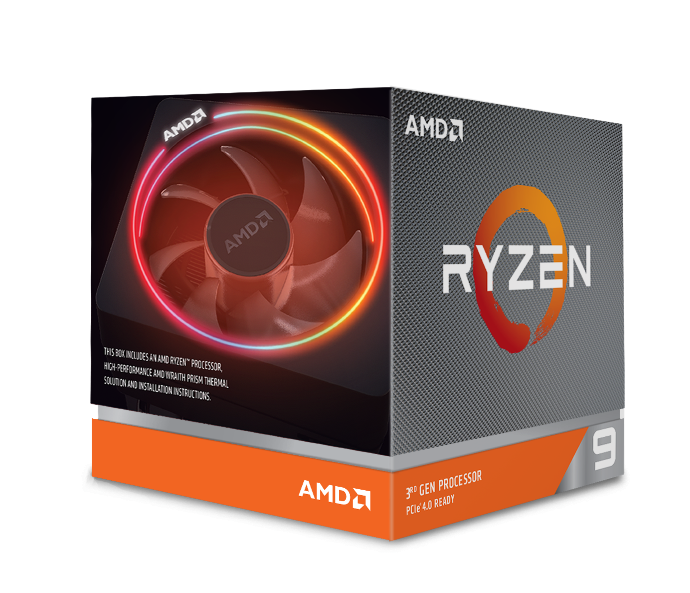 Процесор AMD RYZEN 9 3900X 12-Core 3.8 GHz (4.6 GHz Turbo) 70MB/105W/AM4/BOX