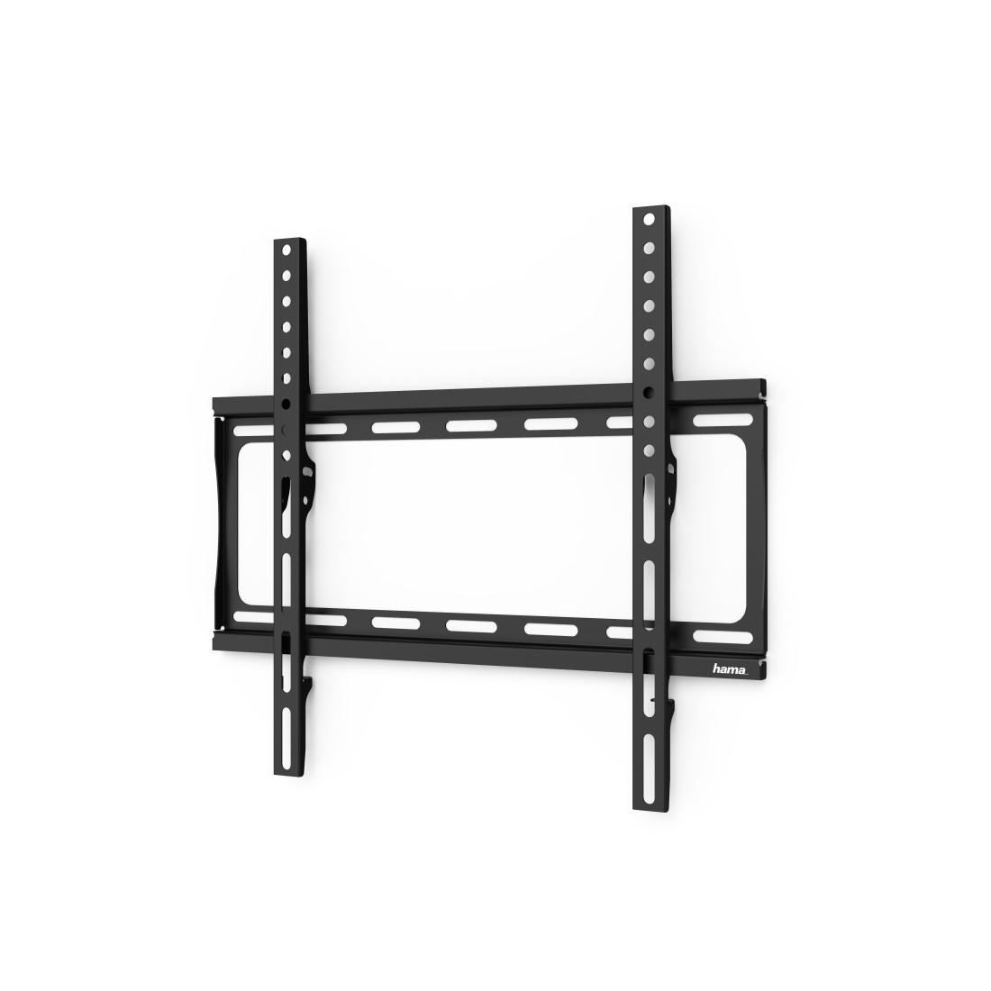 Стенна стойка за TV HAMA 118068, Фиксирана, 65, 35 кг, Черна