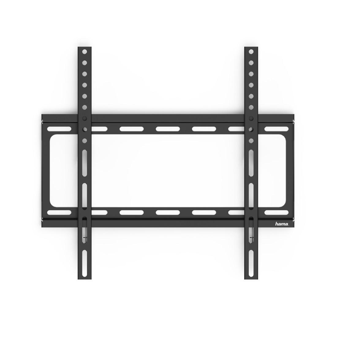 Стенна стойка за TV HAMA 118068, Фиксирана, 65, 35 кг, Черна-2
