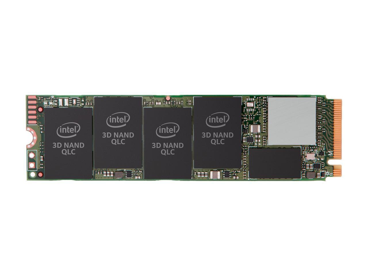 Solid State Drive (SSD) Intel 660P 2 TB NVMe M.2 2280 PCIe 3.0 x4 QLC-2