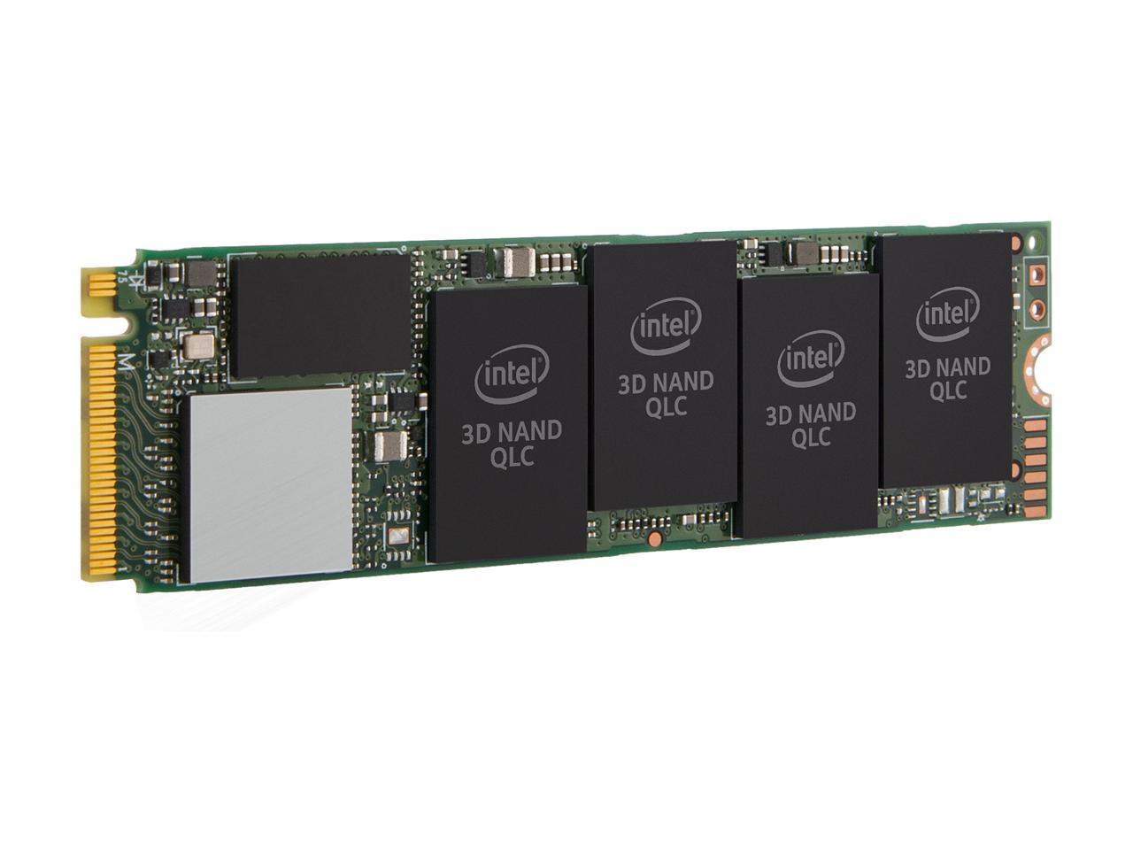Solid State Drive (SSD) Intel 660P 2 TB NVMe M.2 2280 PCIe 3.0 x4 QLC-3
