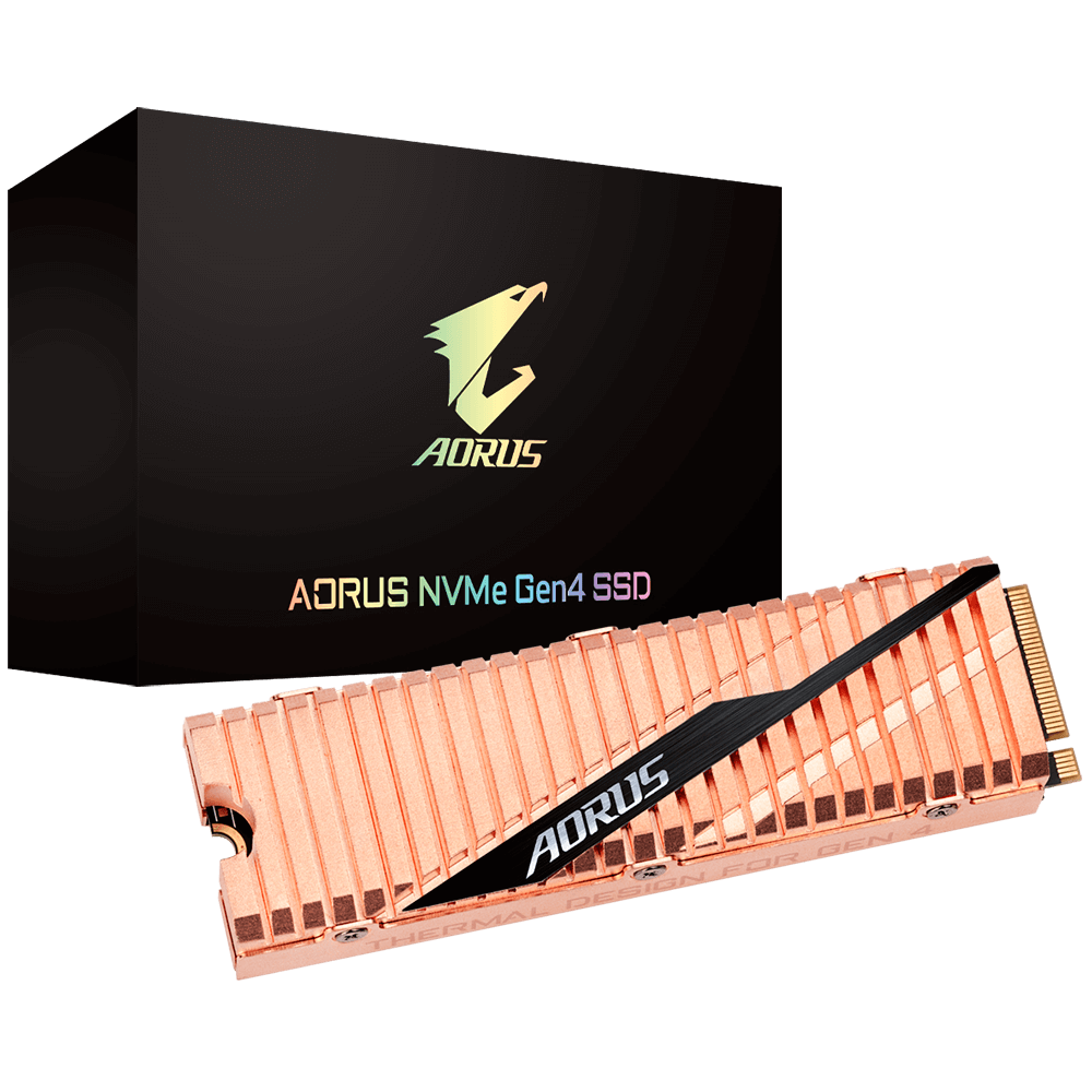 Solid State Drive (SSD) Gigabyte AORUS 1TB NVMe PCIe Gen4 SSD