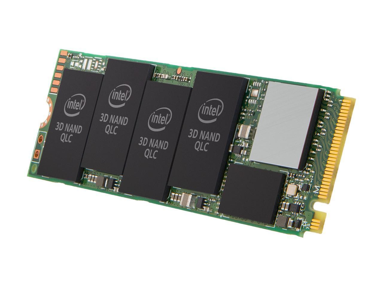 Solid State Drive (SSD) Intel 660P 1TB NVMe M.2 2280 PCIe 3.0 x4 QLC-4