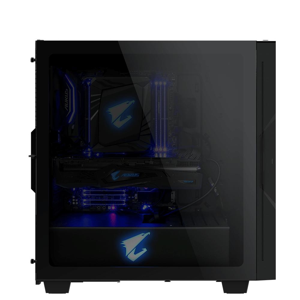 Кутия Gigabyte Aorus AC300G RGB Fusion 2.0 Mid Tower-3